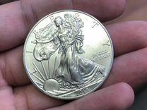 Доллар 2014 года Шагающая свобода(серебро)