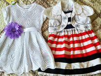 Летние платьица на 2-3 годика