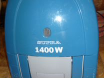 Supra VCS-1475 (с многоразовым мешком, 1400Вт)