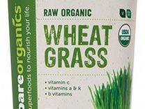 Суперфуды Bare Organics Wheat Grass Powder 227 гр
