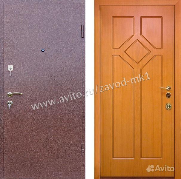 сколько будет стоит поставить металлическую дверь
